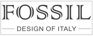 Fossil design of italy logo